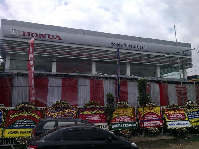 Dealer Mobil Honda Di Bekasi: Honda Mitra Jatiasih (PT. Istana Mitra Sendany)