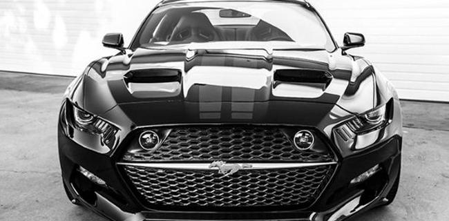 Ford Mustang 735bhp : Rocket pembunuh