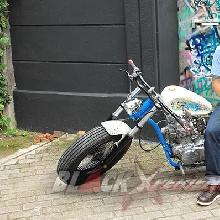 MMC Outsiders Jakarta Berhasil Menyulap Binter Merzy Bergaya Heiwa Custom