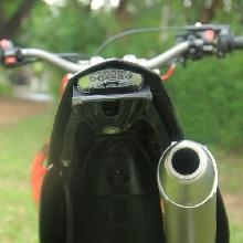 Tampang belakang Kawasaki KLX150 Supermoto