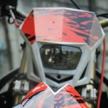 Spakbor depan KTM Supermoto