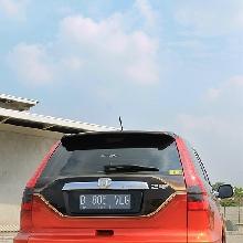Tampang belakang Honda CR-V elegant VIP