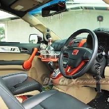 Kabin depan Honda CR-V elegant VIP