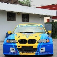 Tampak depan BMW E46 WTCC Lupromax