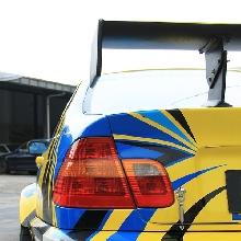 Rear lamp masih menggunakan OEM BMW M3