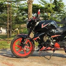 Sisi samping Honda Tiger bergaya Honda CBR600