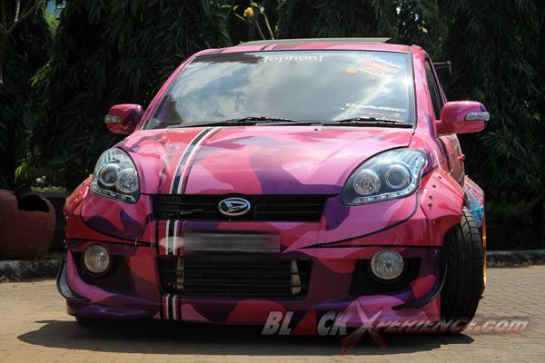 Modifikasi Daihatsu Sirion Drift Bergaya Street Racing ...
