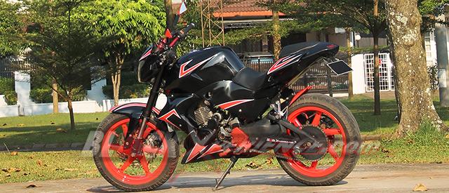 Modifikasi Honda Tiger