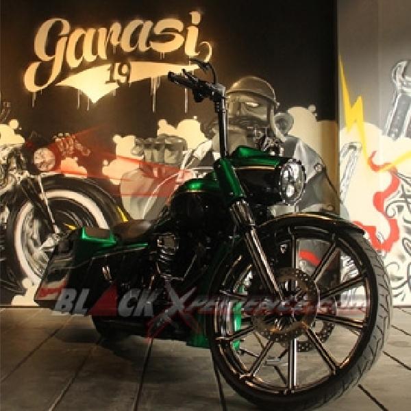 Modifikasi Harley-Davidson Road King Bagger Style