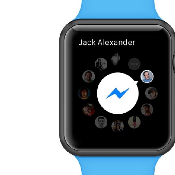 Facebook Messenger Akhirnya Hadir di Apple Watch