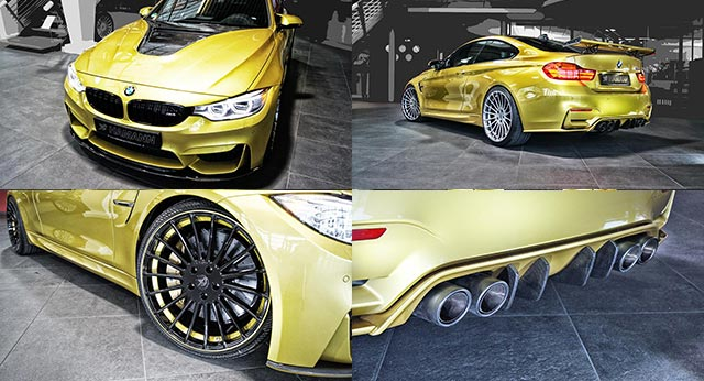 Modifikasi BMW M4 Coupe Oleh Tuner Hamann