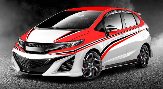 Modifikasi Honda Jazz